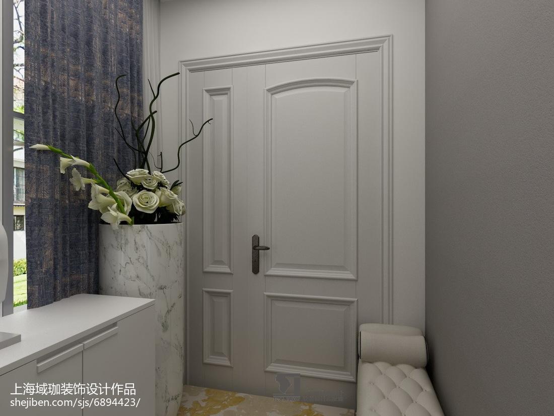 中式新古典风格隔断图片