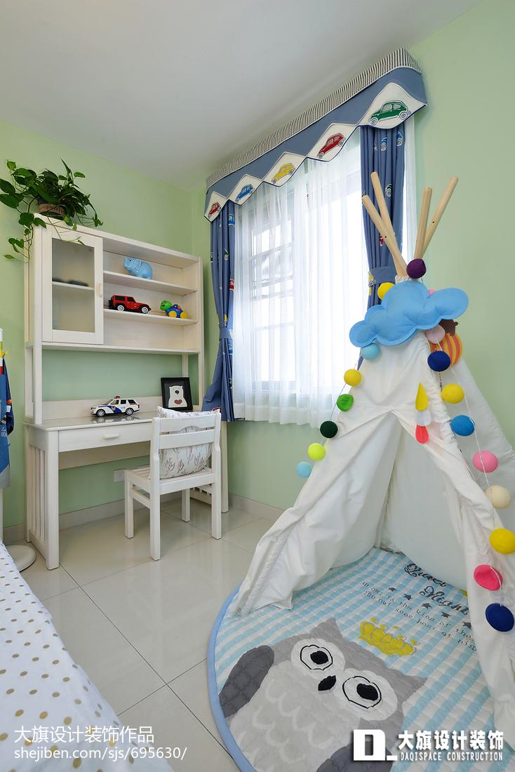 精美124平米四居儿童房宜家装修图