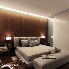 精美139平米现代别墅卧室装修图