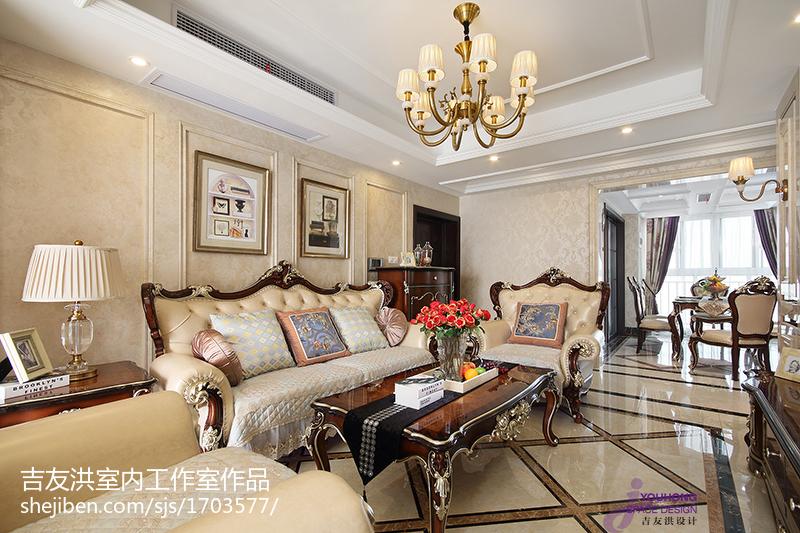 精选新古典风格客厅设计