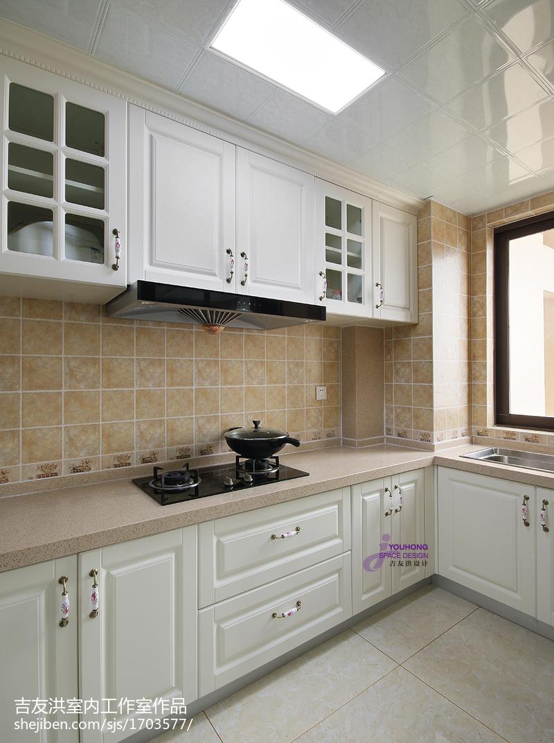 新古典风格三居室厨房设计