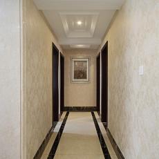 精选面积92平新古典三居过道装修设计效果图片大全