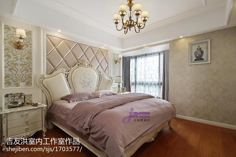 精选新古典三居卧室装修欣赏图片大全