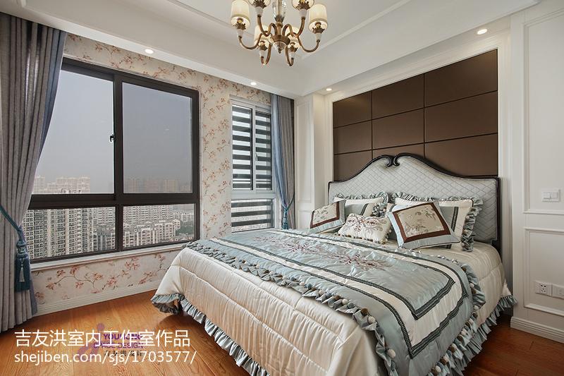 温馨新古典风格卧室装修效果图