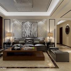 热门面积101平现代三居客厅装修效果图片欣赏