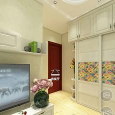 热门面积123平新古典四居卧室欣赏图片大全