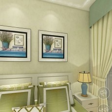 精美新古典四居卧室设计效果图