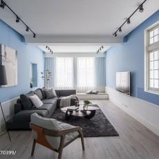2018精选面积130平混搭四居客厅效果图片大全