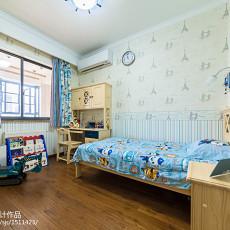 2018面积107平美式三居儿童房装修图片大全