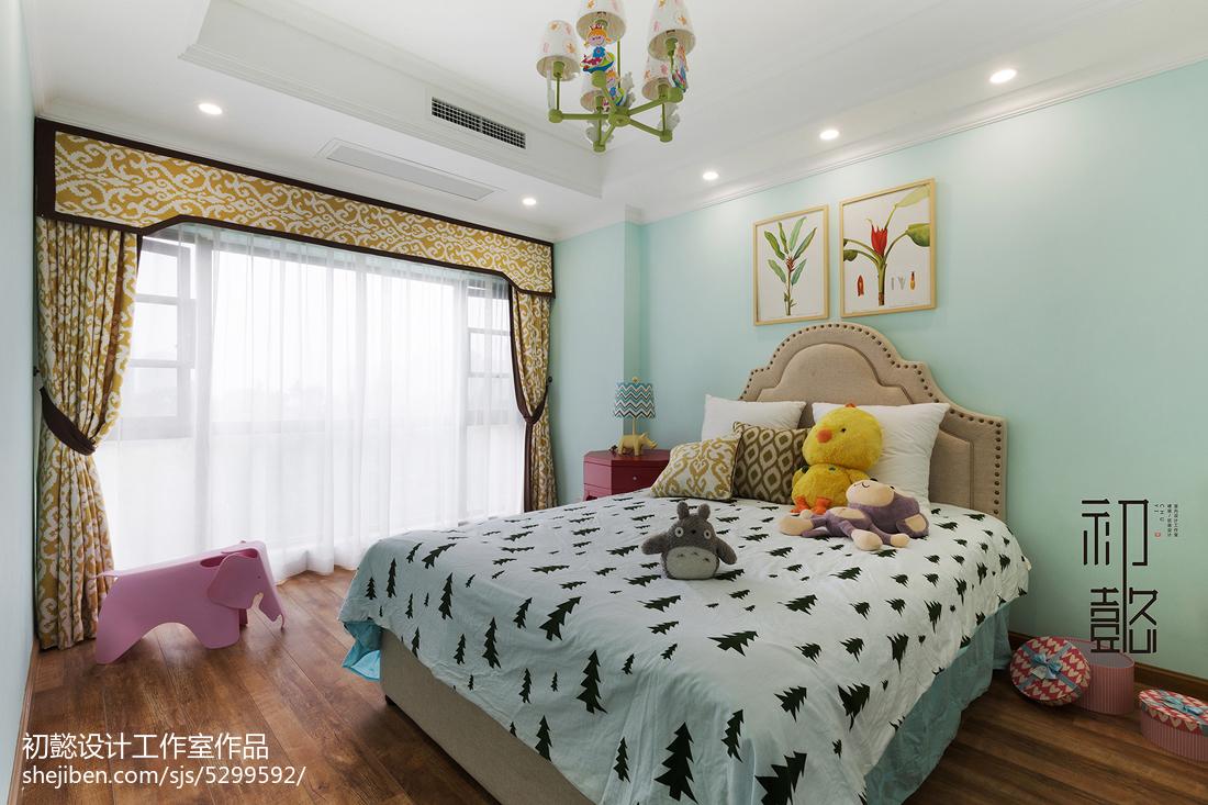 面积139平美式四居儿童房装饰图
