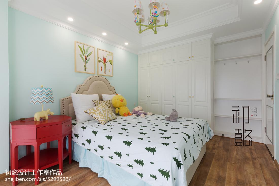 2018面积117平美式四居儿童房装修设计效果图
