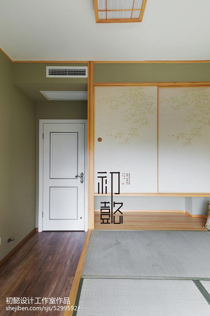 优美155平美式四居书房实拍图