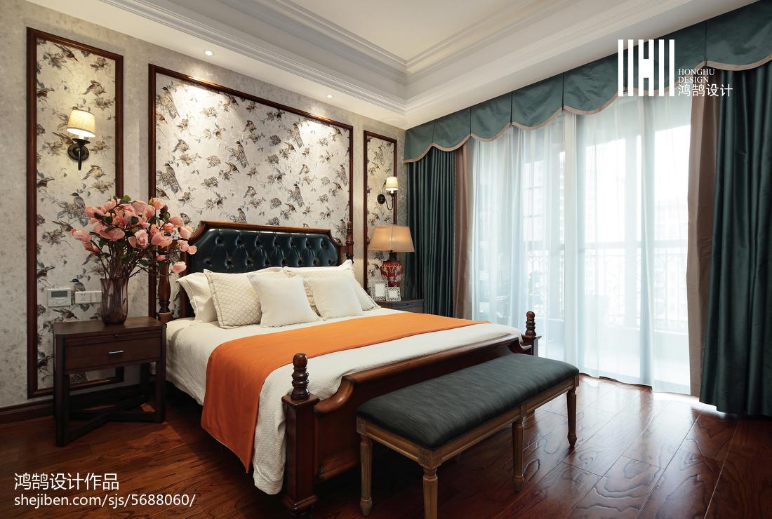 2018精选122平米美式复式卧室装饰图片欣赏