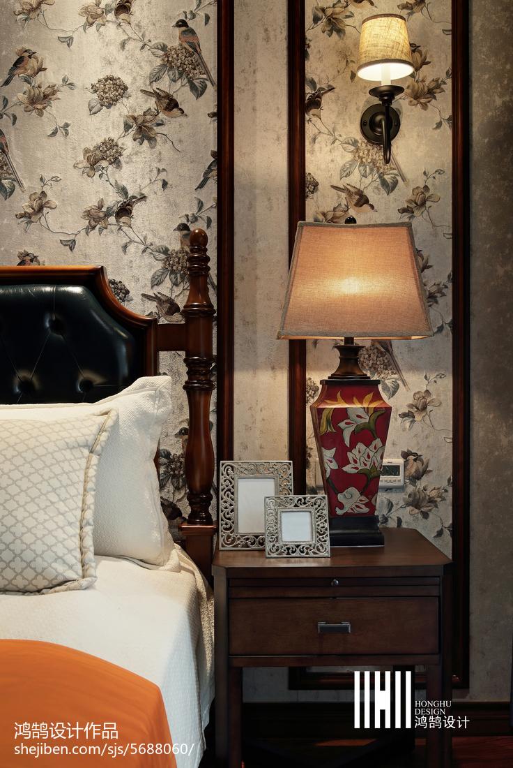 热门142平米美式复式卧室效果图片