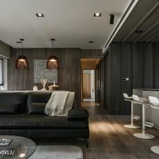 热门大小96平现代三居客厅装修设计效果图片大全