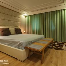 精美125平米现代别墅卧室效果图