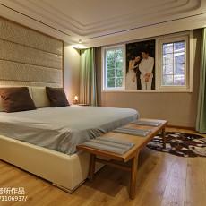 精选124平米现代别墅卧室装饰图片欣赏