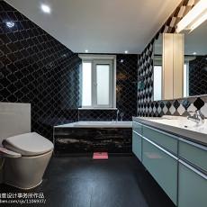 热门面积117平别墅卫生间现代效果图片