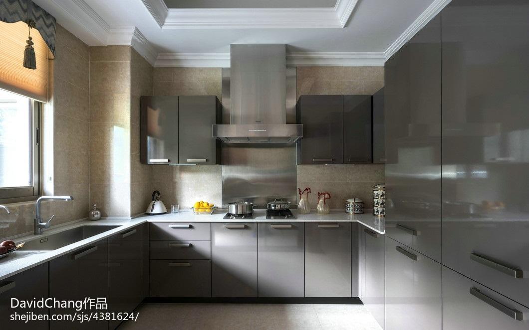 热门厨房欧式装修欣赏图片