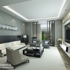 精选简约二居客厅装修设计效果图片欣赏
