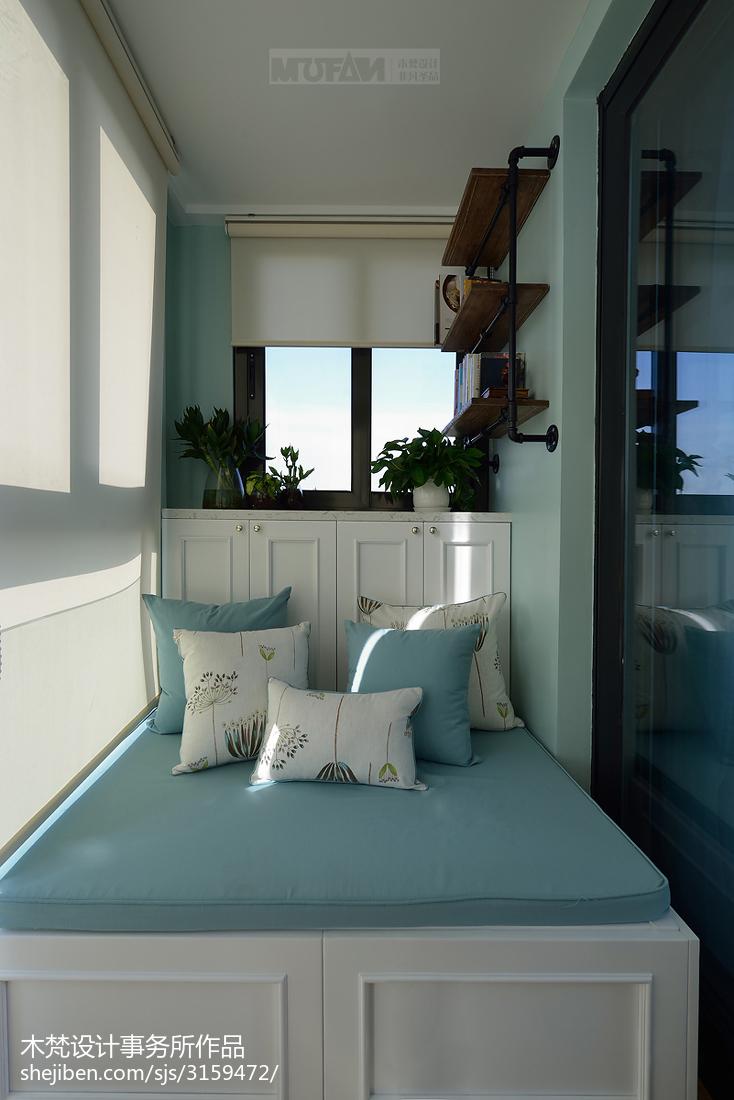 美式小阳台设计