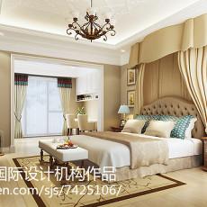 精美面积132平别墅客厅美式装修图片大全