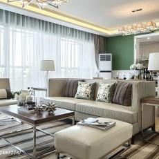 热门97平米三居客厅现代装修效果图片欣赏