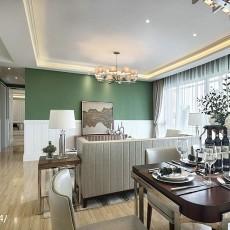 2018精选大小94平现代三居客厅装修效果图