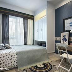 201893平米三居卧室现代装饰图