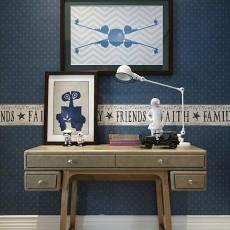 热门104平米三居卧室现代装修效果图片
