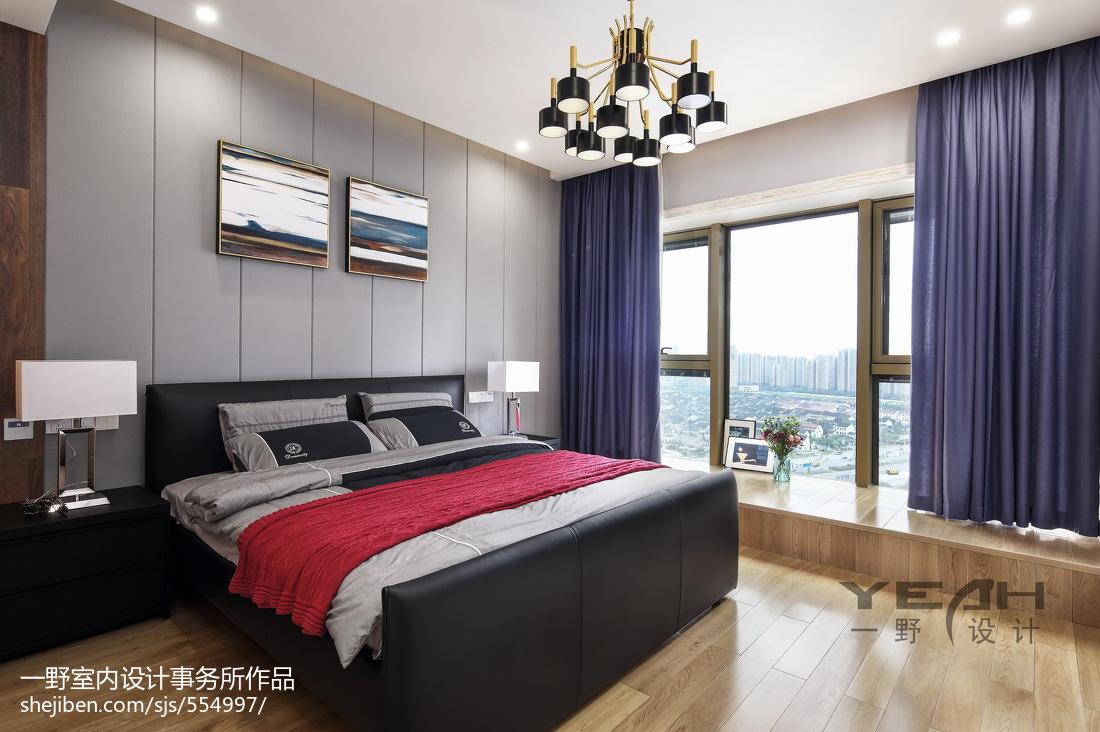 简单现代风格卧室设计方案
