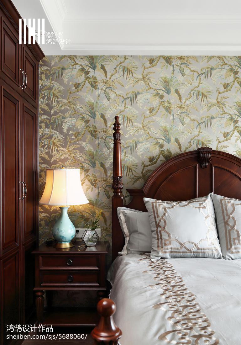 精选美式四居卧室装饰图片大全