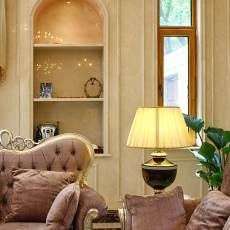 精美面积138平别墅客厅欧式装修欣赏图片