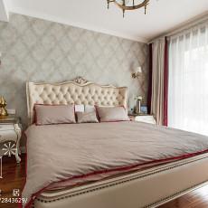 热门92平米三居卧室欧式设计效果图