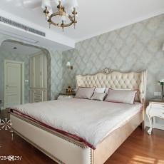 精选面积93平欧式三居卧室装修设计效果图片大全