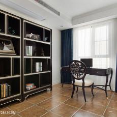 精美面积100平欧式三居书房实景图