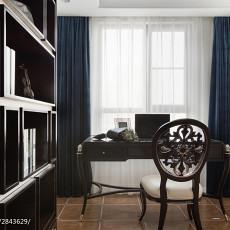 明亮103平欧式三居书房装修美图