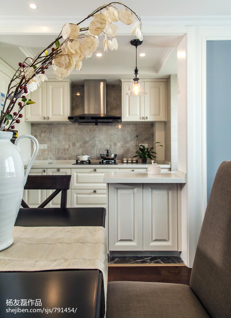 现代美式厨房图片