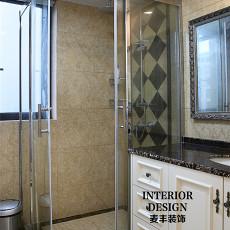 新古典三居卫生间装修实景图