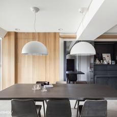 热门大小94平现代三居餐厅装修设计效果图