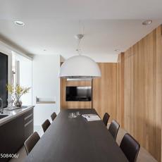 精选大小98平现代三居餐厅装修效果图片