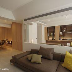 精选101平米三居客厅现代装修欣赏图片大全
