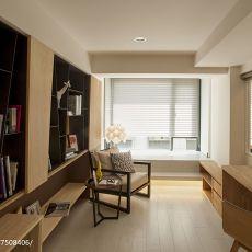 华丽88平现代三居书房装修装饰图