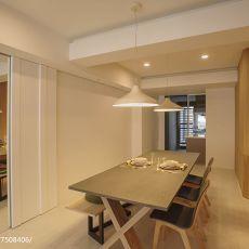精美面积97平现代三居餐厅装修图片