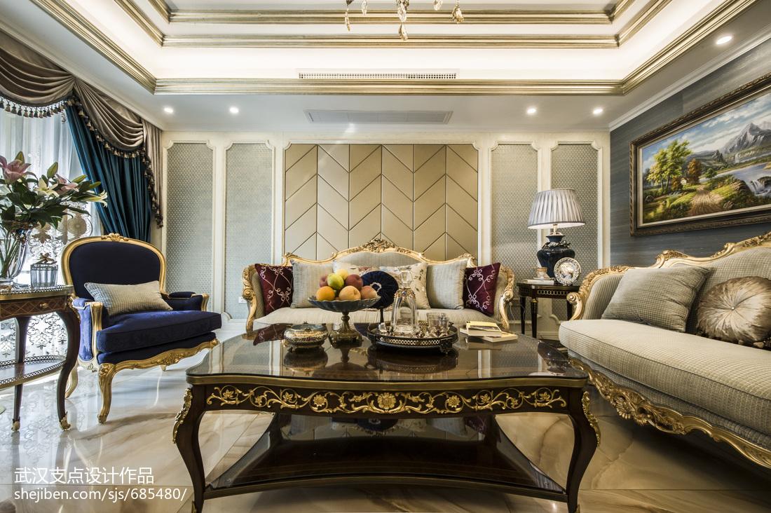奢华欧式风格客厅装修图