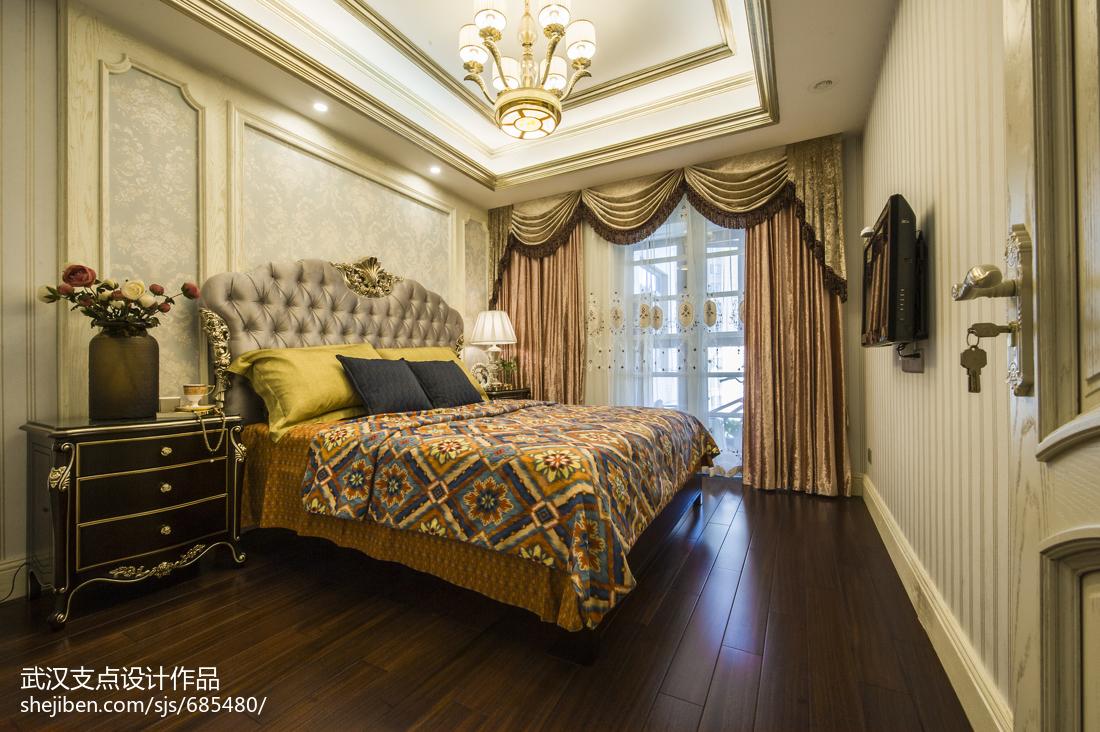 奢华欧式卧室设计案例