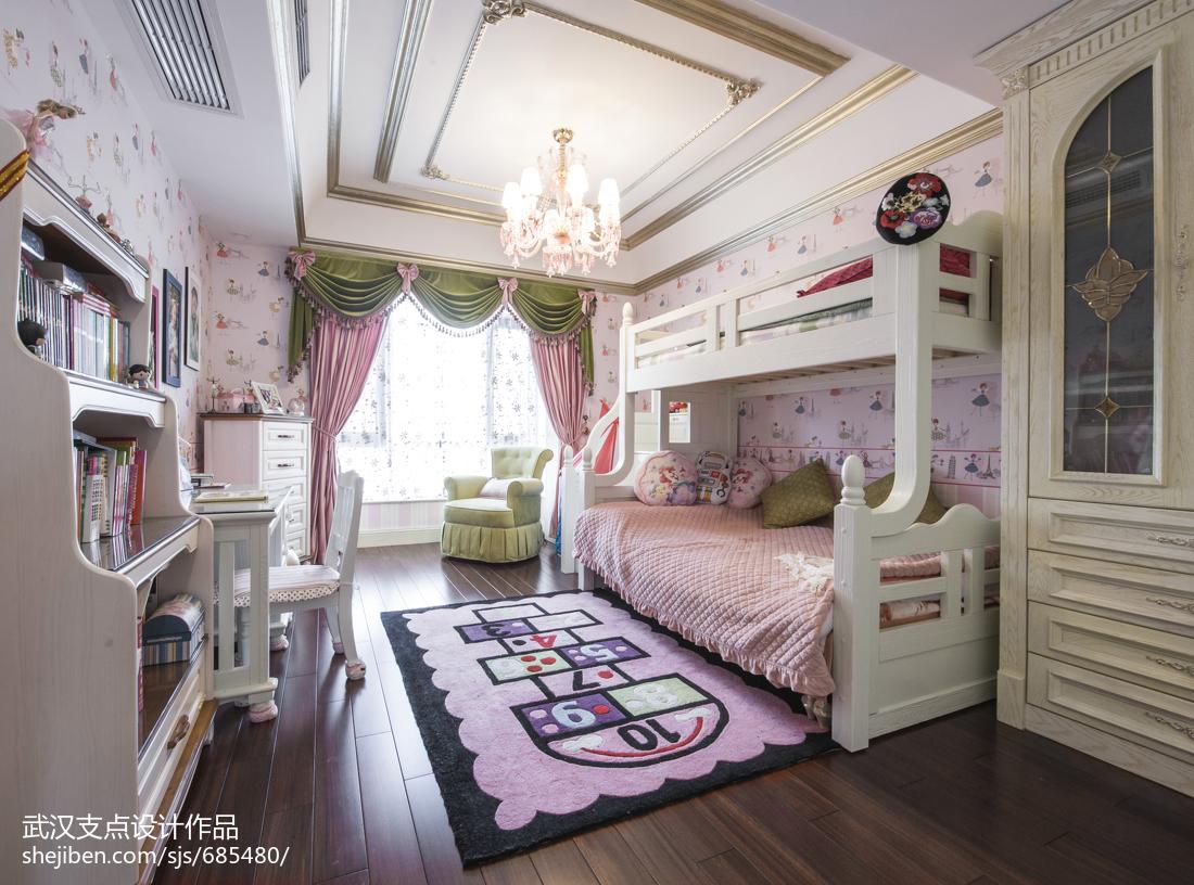 优雅欧式风格儿童房装修