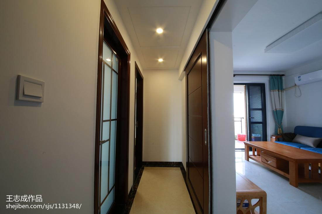 精美面积75平小户型卧室简约欣赏图