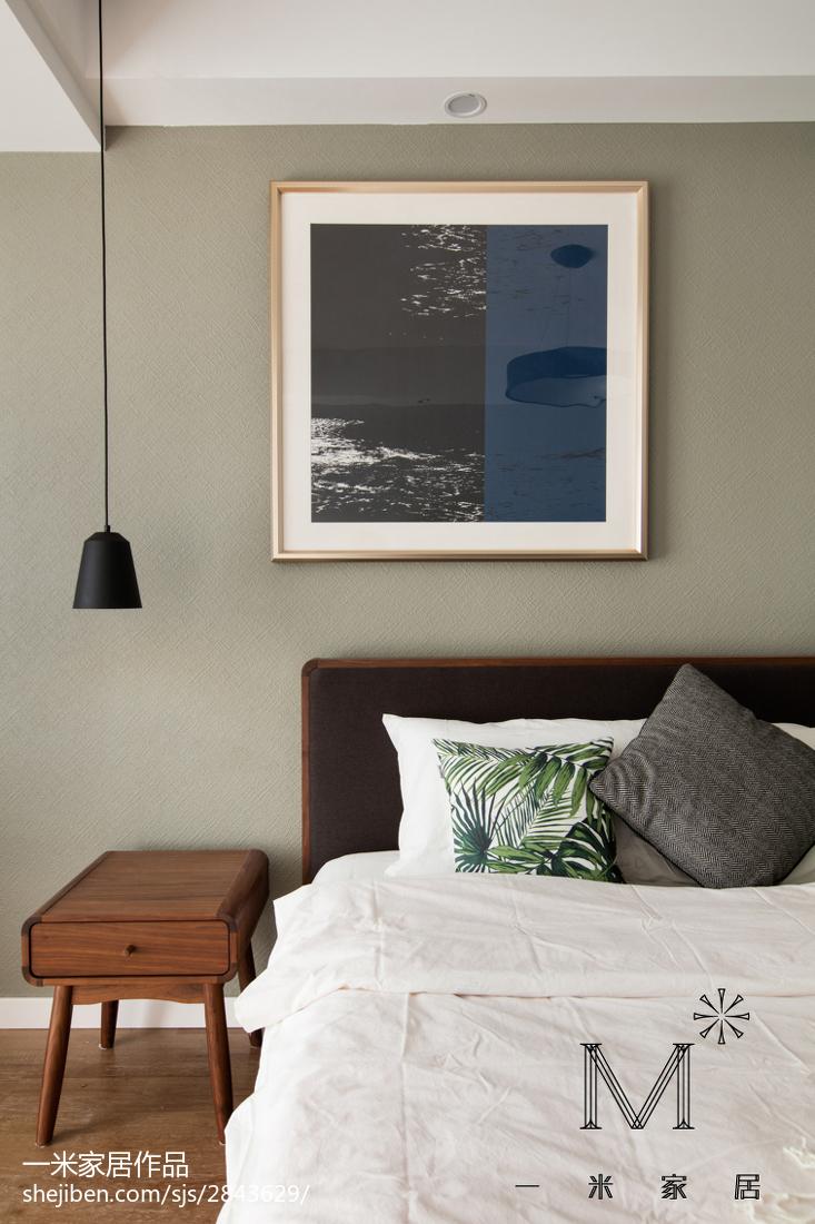 精选大小93平现代三居卧室装修图片