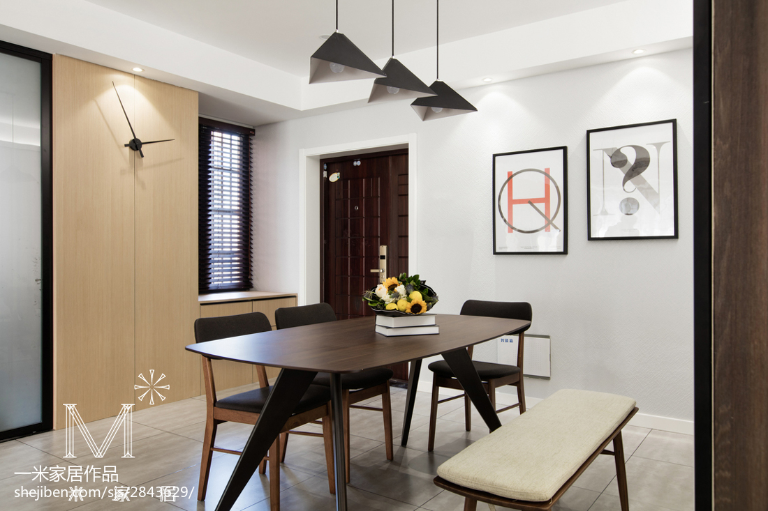 2018大小95平现代三居客厅欣赏图片大全